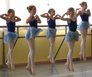 ARC School of Ballet Dancers