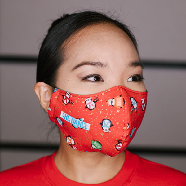 ARC Dance Penguin Holiday Mask