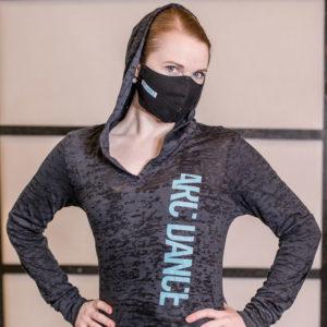ARC Dance hooded t-shirt - closeup 3