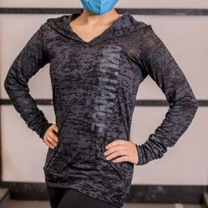 ARC Dance hooded t-shirt - closeup