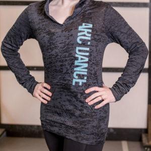 ARC Dance hooded t-shirt - closeup 2