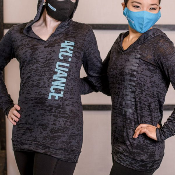 ARC Dance Long Sleeve Hooded t-shirt