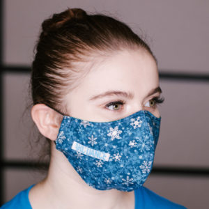 ARC Dance Holiday Masks - snowflakes