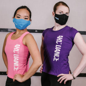ARC Dance T-shirts and Masks - front