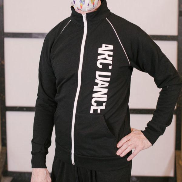 ARC Dance Zipper Sweat Track closeup