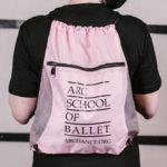 ARC School of Ballet Backpack in Pink