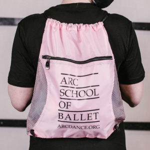 ARC School of Ballet Backpack in Pink