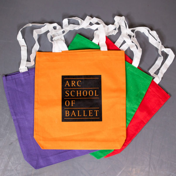 ARC School of Ballet Cotton Tote Bag