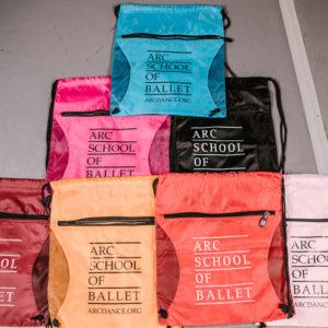 ARC School of Ballet Backpacks - multiple colors