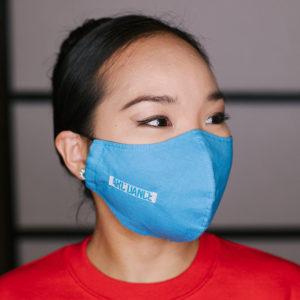 ARC Dance light blue mask